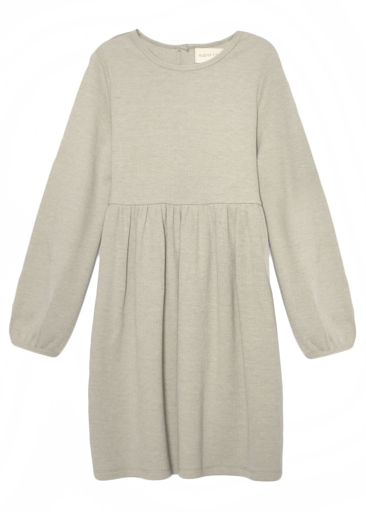 Mabel and Honey Olive and Fig Knit Dress