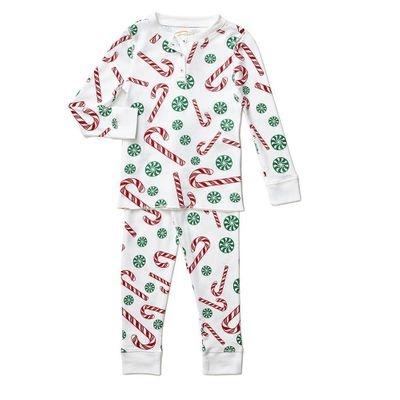 Petidoux Candy Cane Pajamas