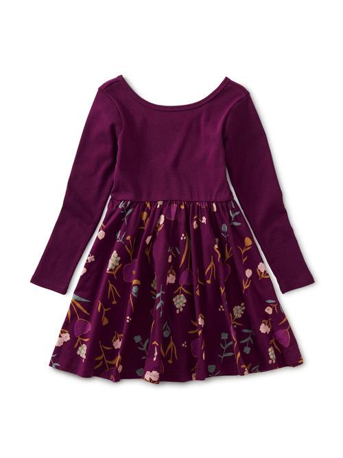 Tea Collection Painted Petals Ballet Skirt Dress