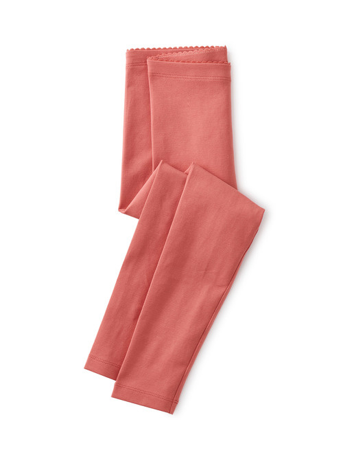 Tea Collection Faded Rose Solid Leggings