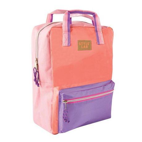 Fashion Angels Coral/Lavender Backpack