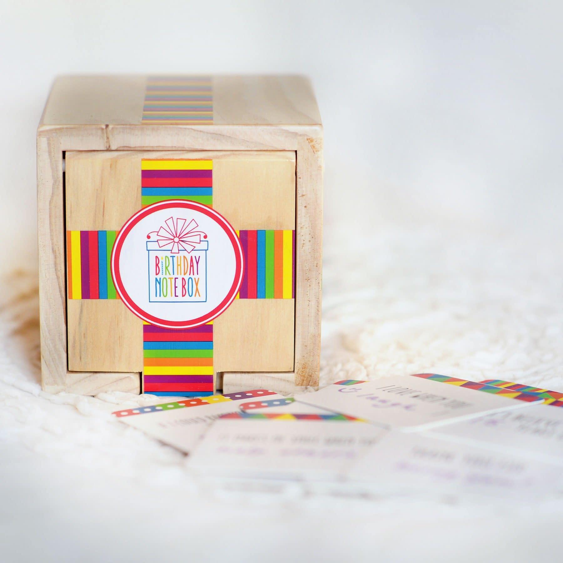 Star Kids Company Birthday Note Box
