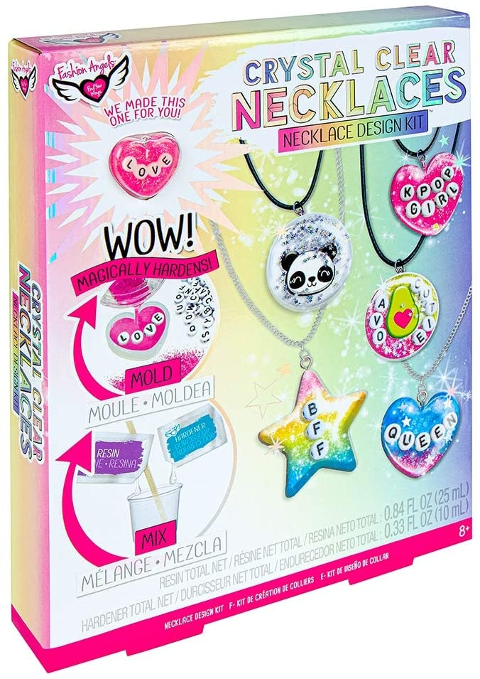 Fashion Angels Crystal Clear Necklace Design Kit