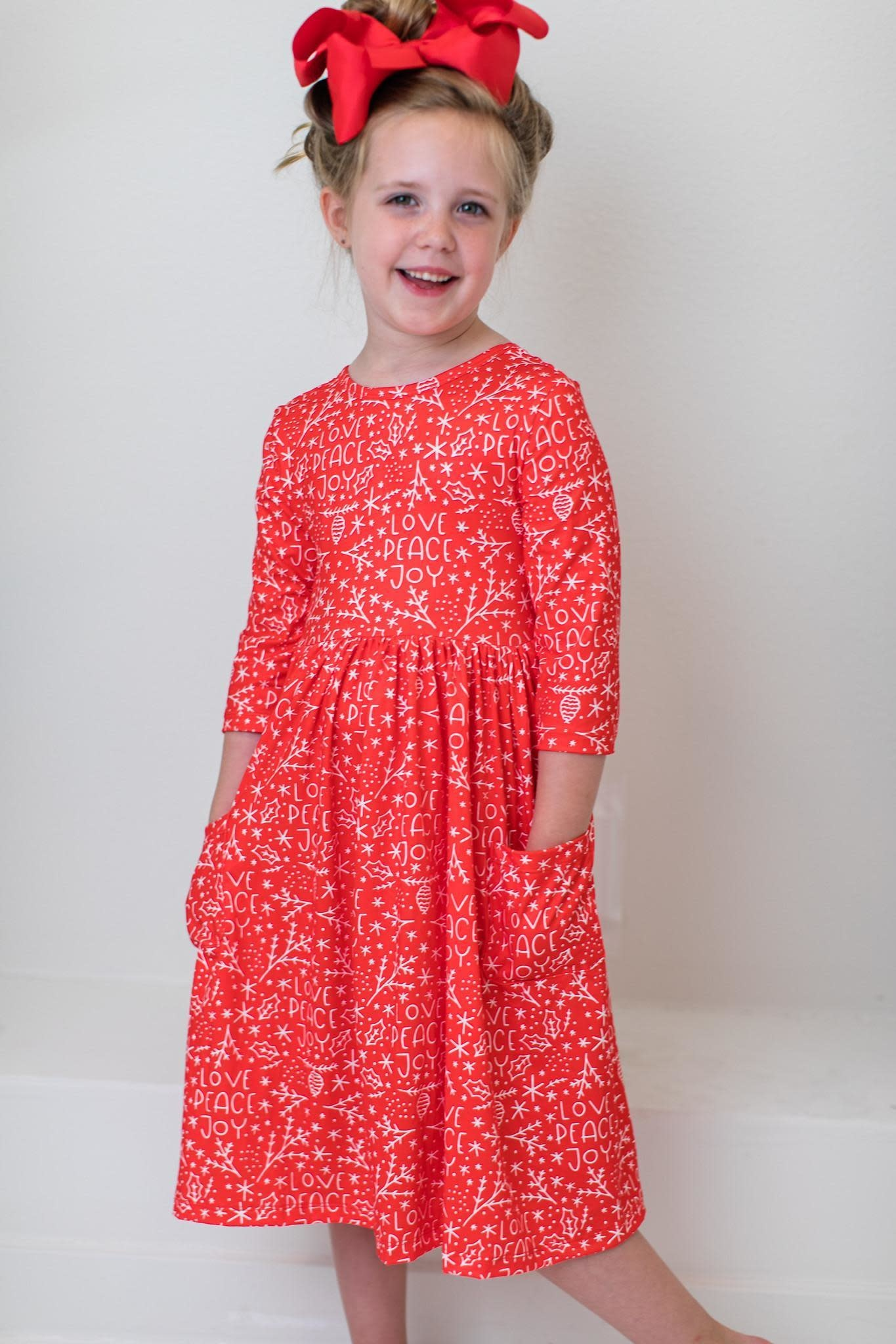 Mila & Rose Pocket Twirl Dress