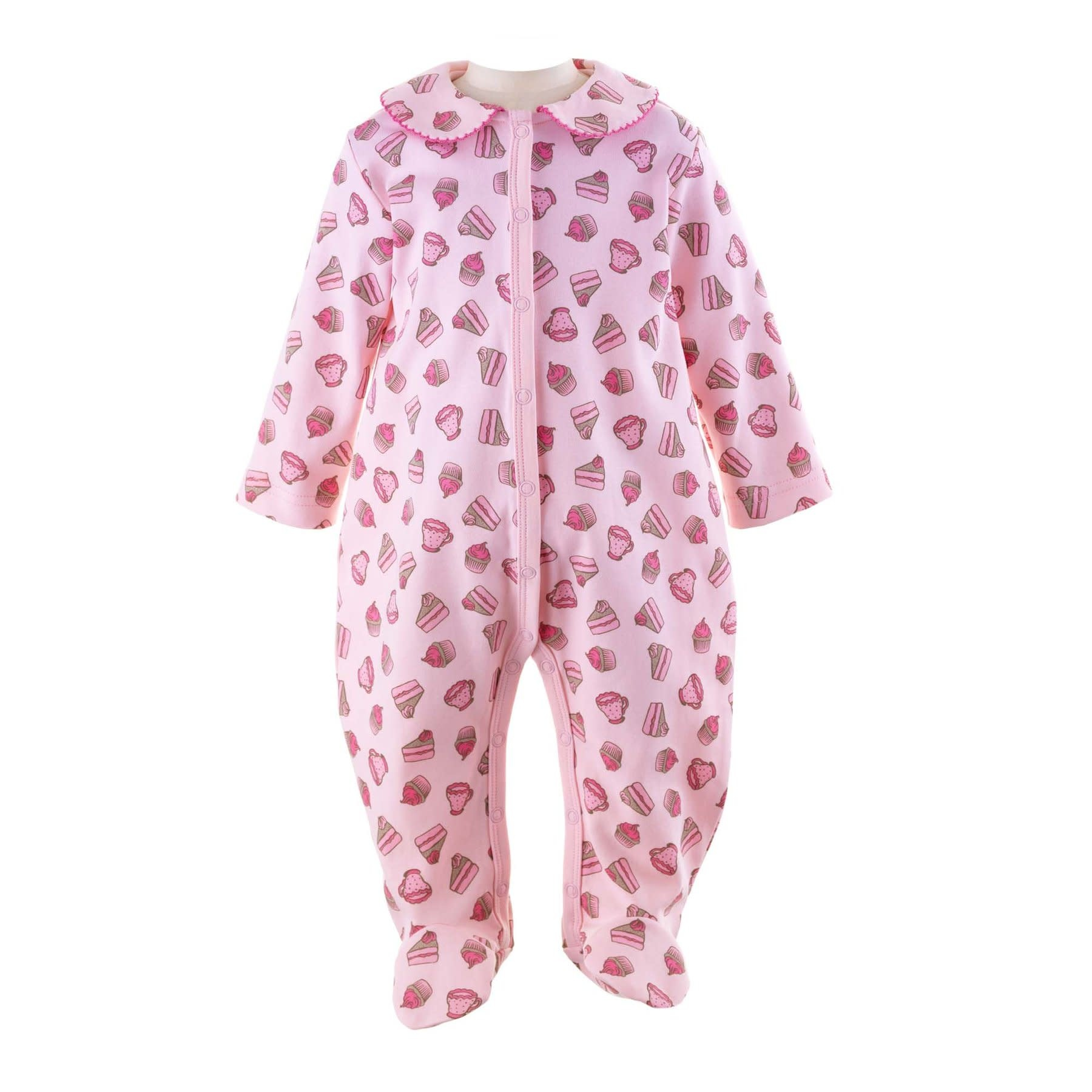Rachel Riley Pink Cupcake Babygro