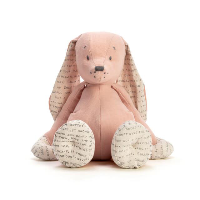 demdaco Dear Baby Bunny Plush