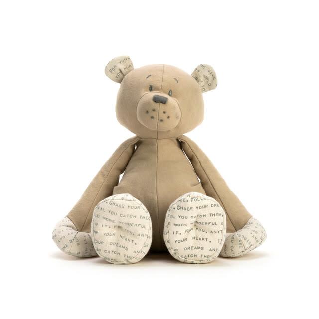 demdaco Dear Baby Teddy Bear Plush