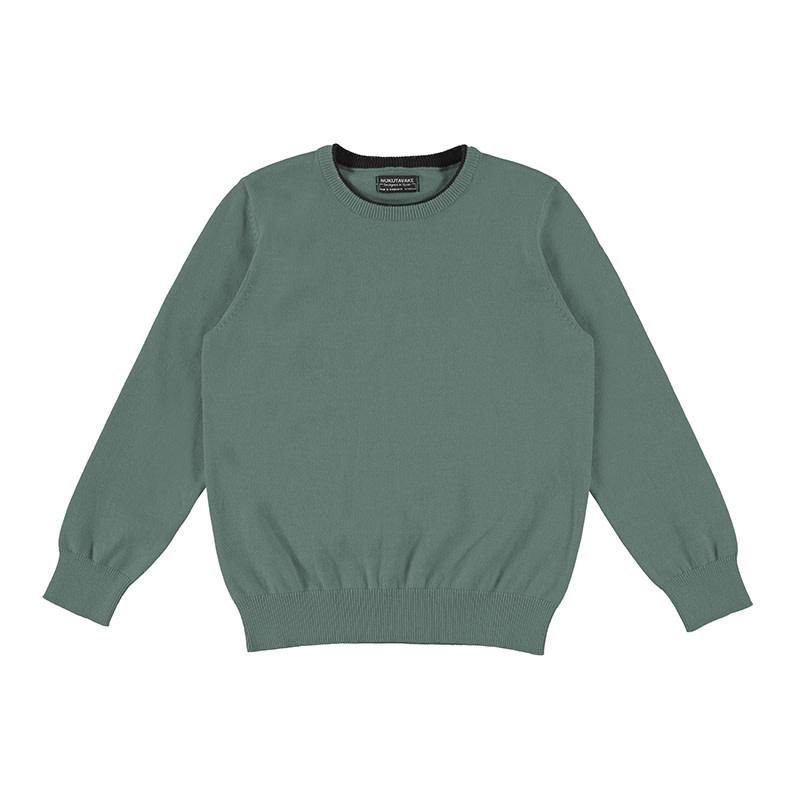 Mayoral Sage Cotton Sweater