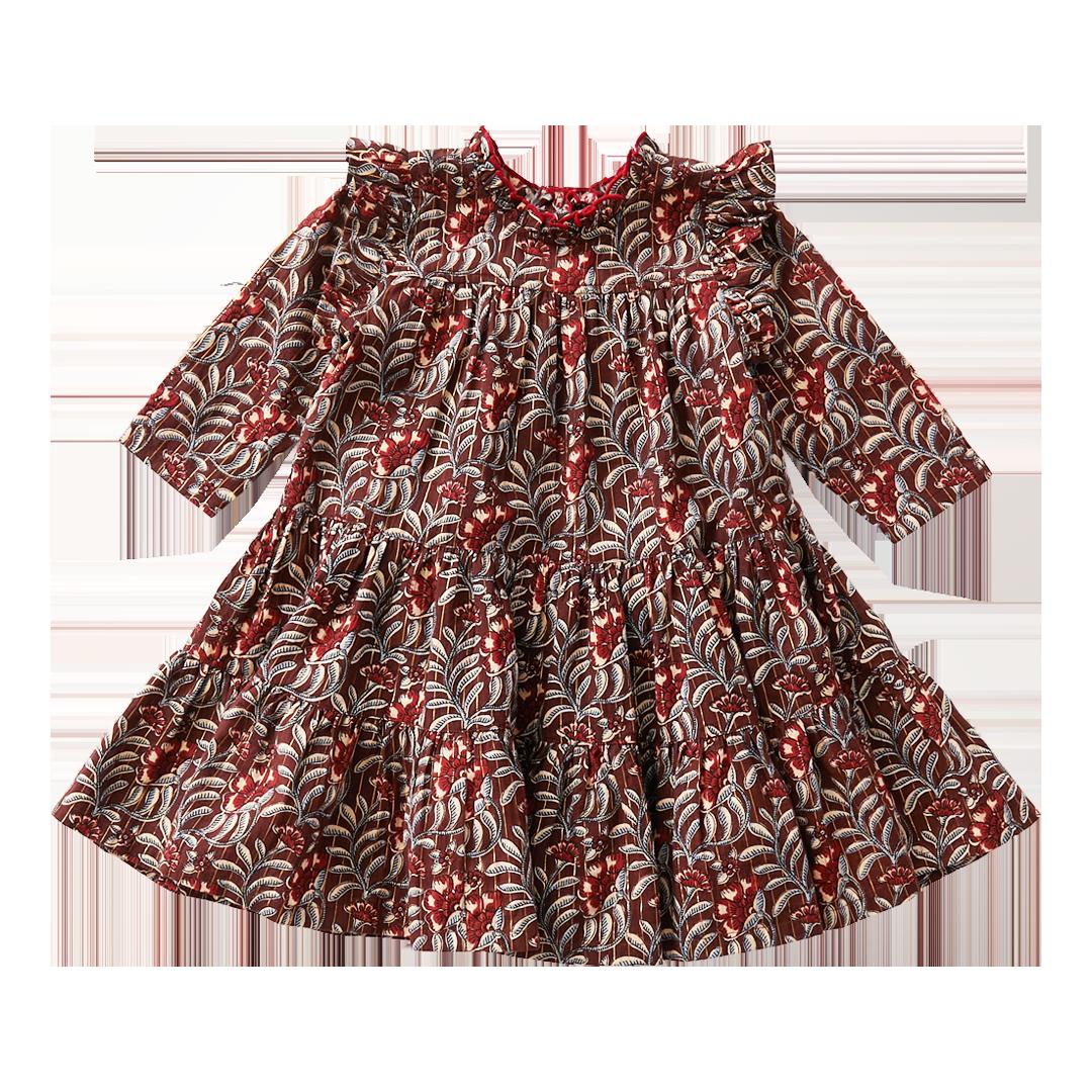 Pink Chicken Chocolate Vine Kalani Dress