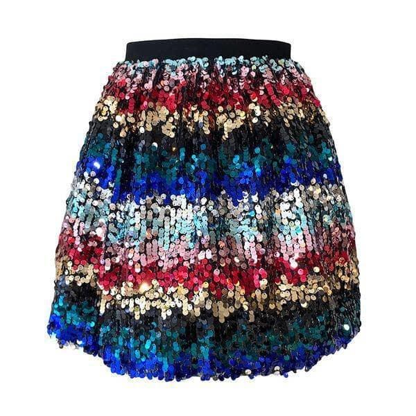 Lola & the Boys Confetti Sequin Skirt