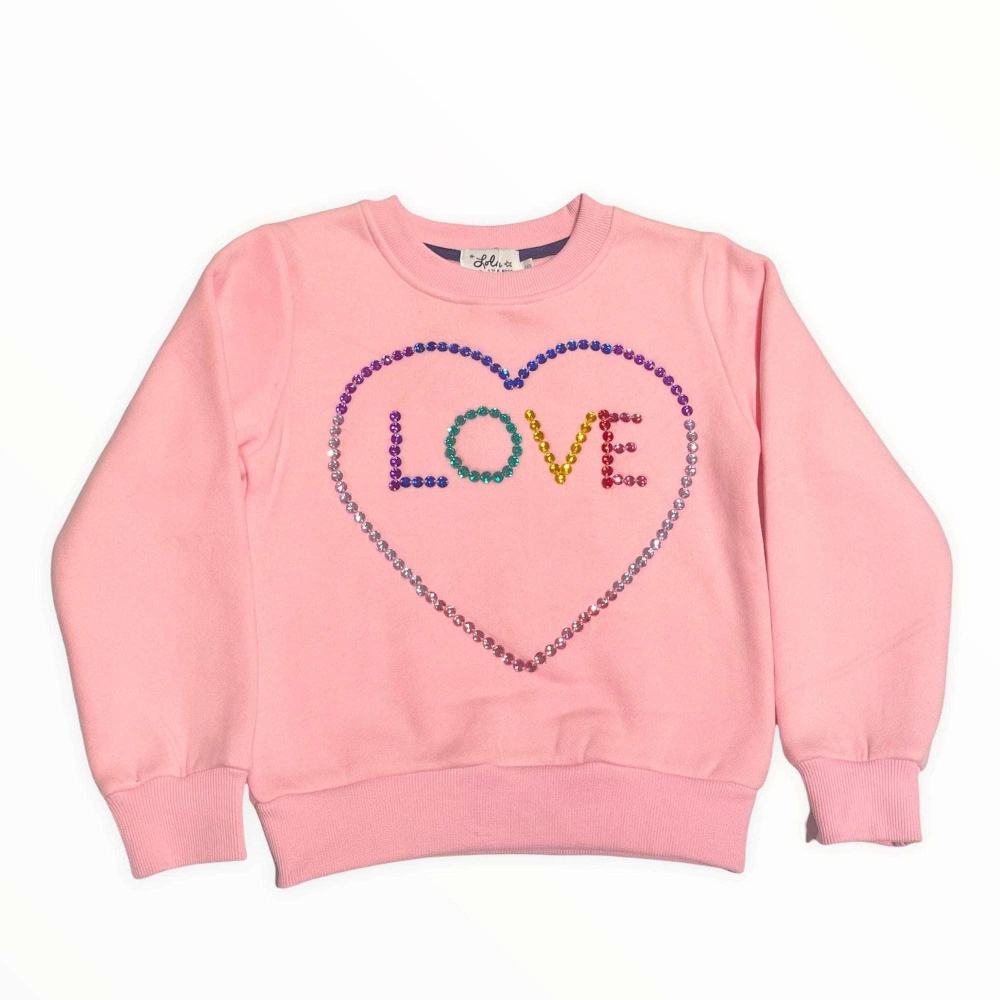 Lola & the Boys Light Bright Love Sweatshirt
