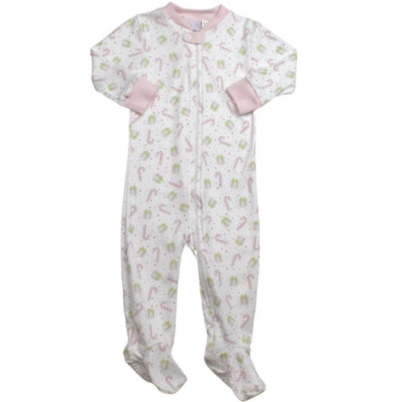 Lullaby Set Pink Christmas Once Upon a Time Footie