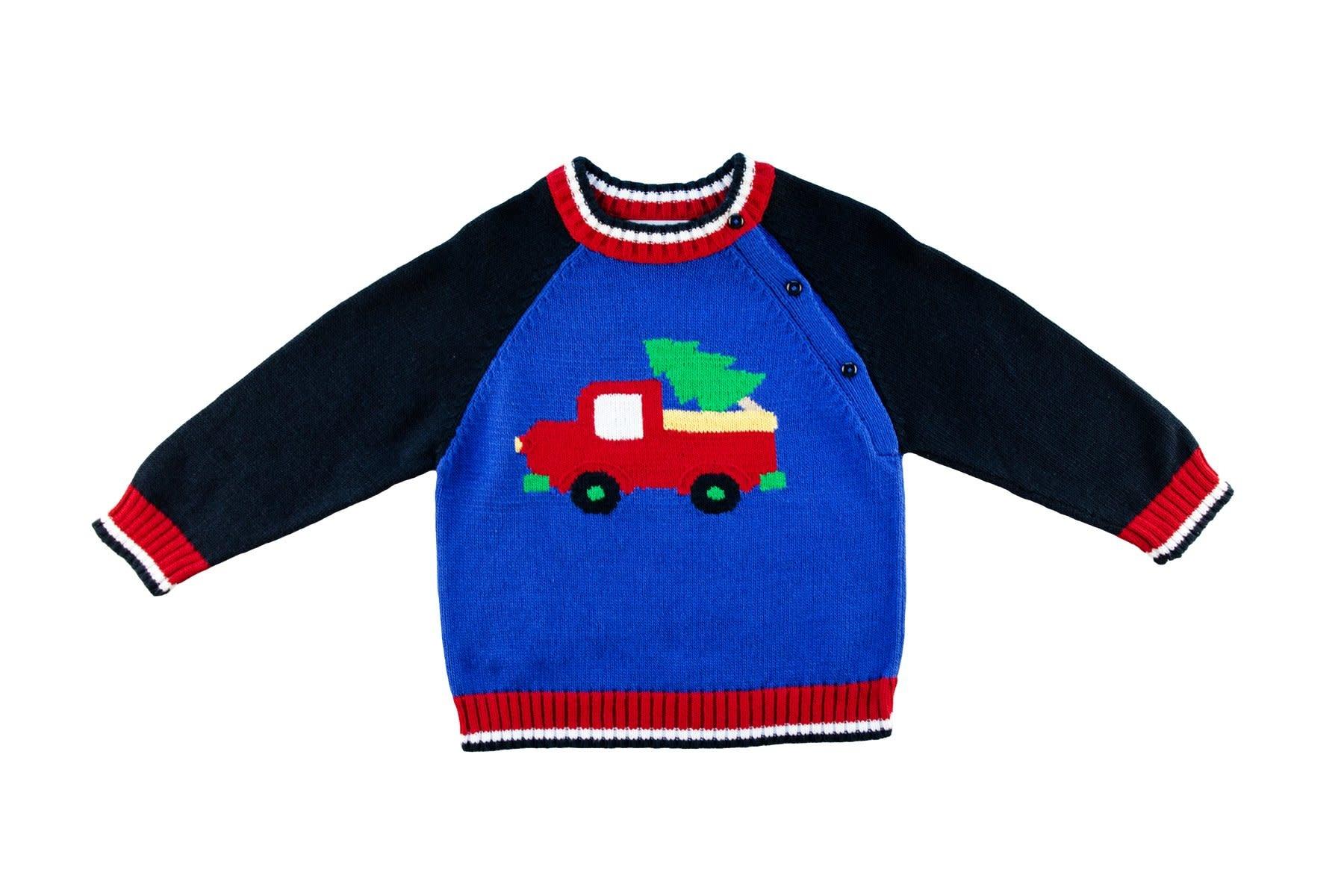Florence Eiseman Christmas Truck Sweater