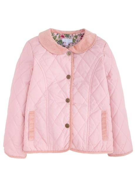 Little English Dusty Pink Classic Quilted Jacket