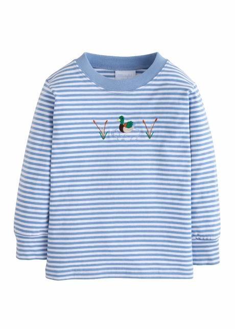 Little English Mallard Applique T-Shirt