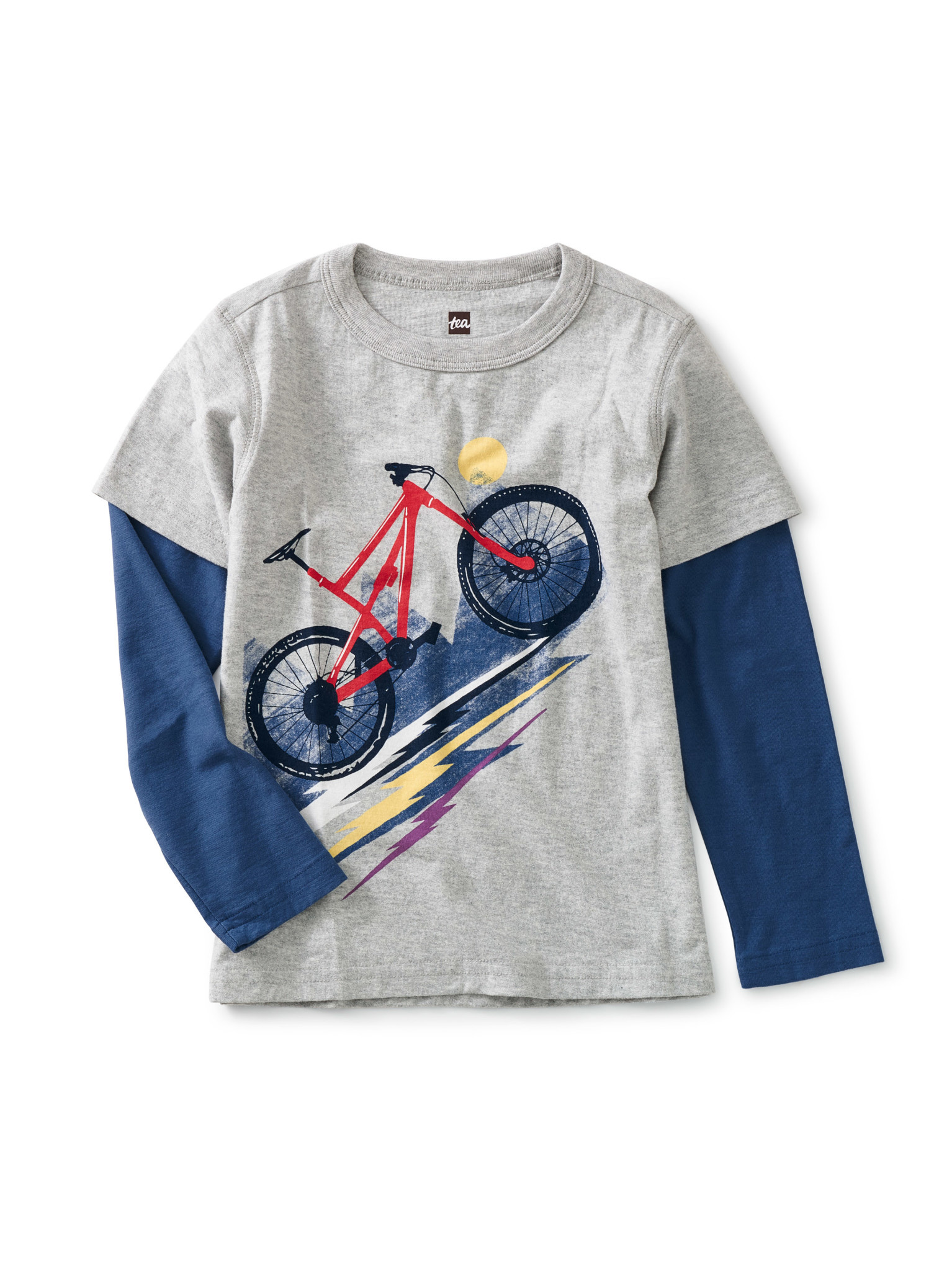 Tea Collection Heavy Pedal Graphic Tee