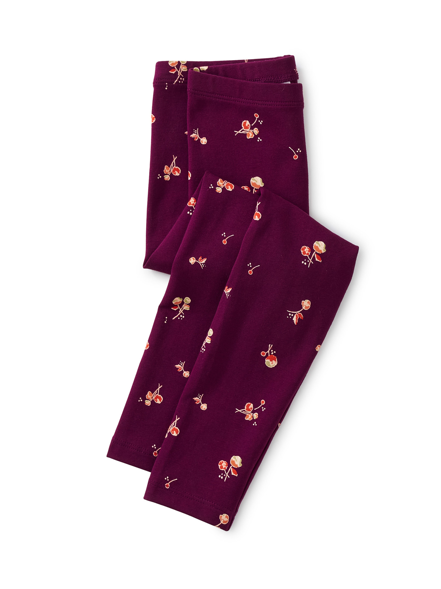 Tea Collection Tossed Tulips Printed Leggings
