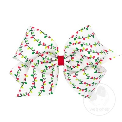Wee Ones Med Christmas Bow