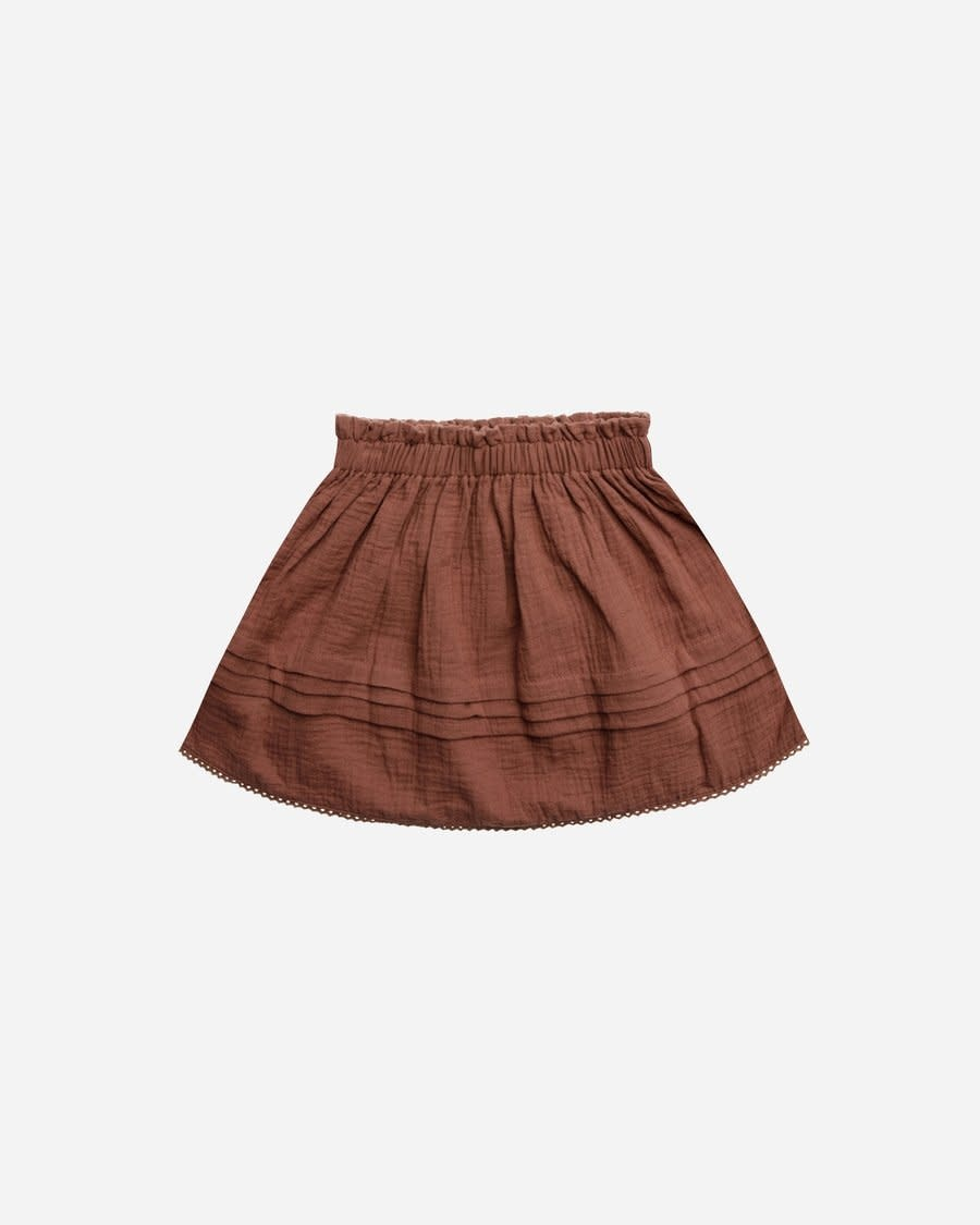 Rylee & Cru Wine Simple Skirt