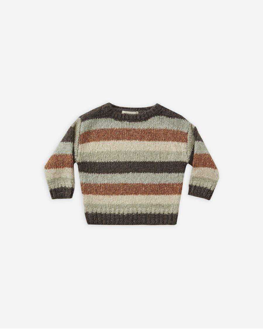 Rylee & Cru Multi-stripe Aspen Sweater
