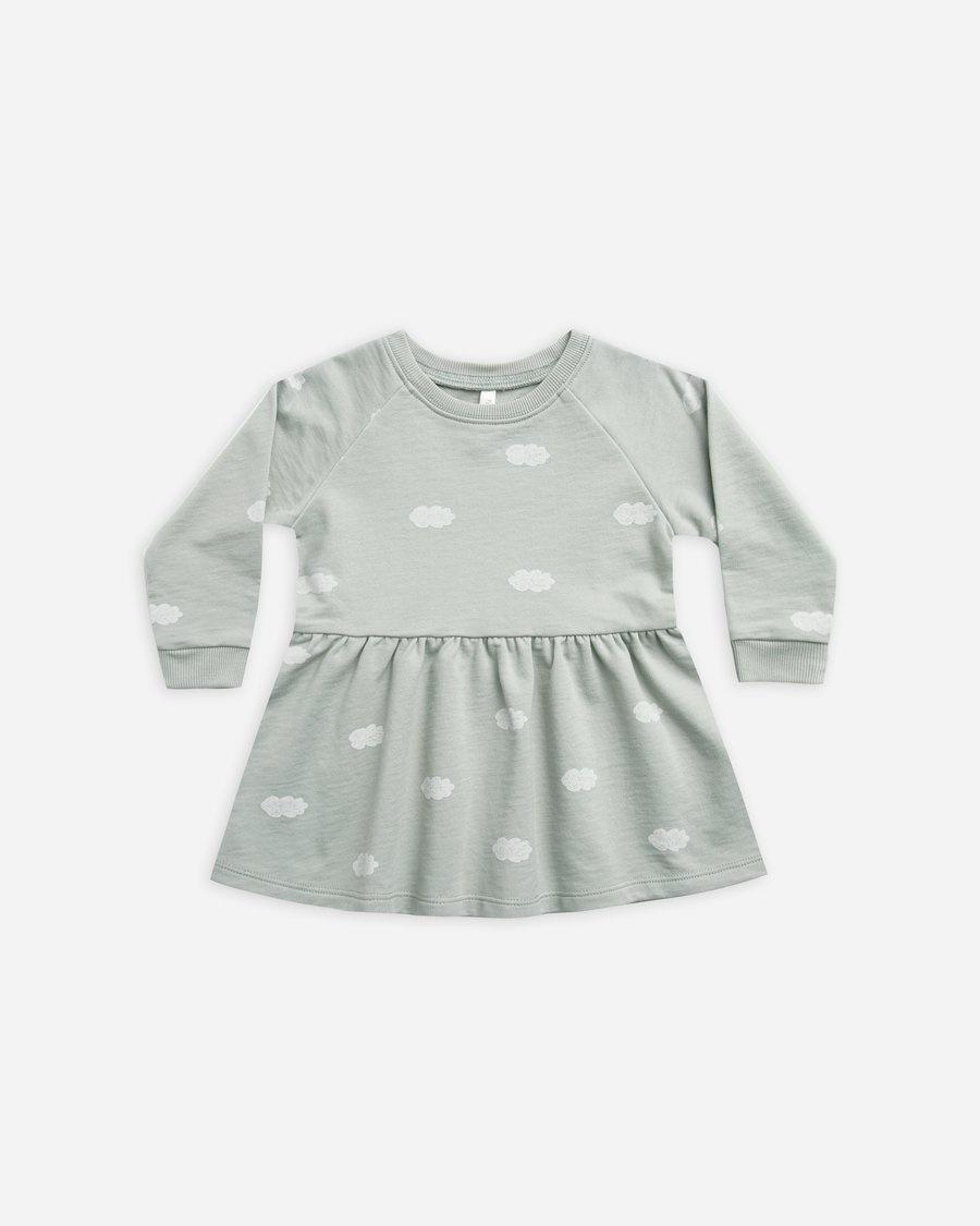 Rylee & Cru Clouds Raglan Dress