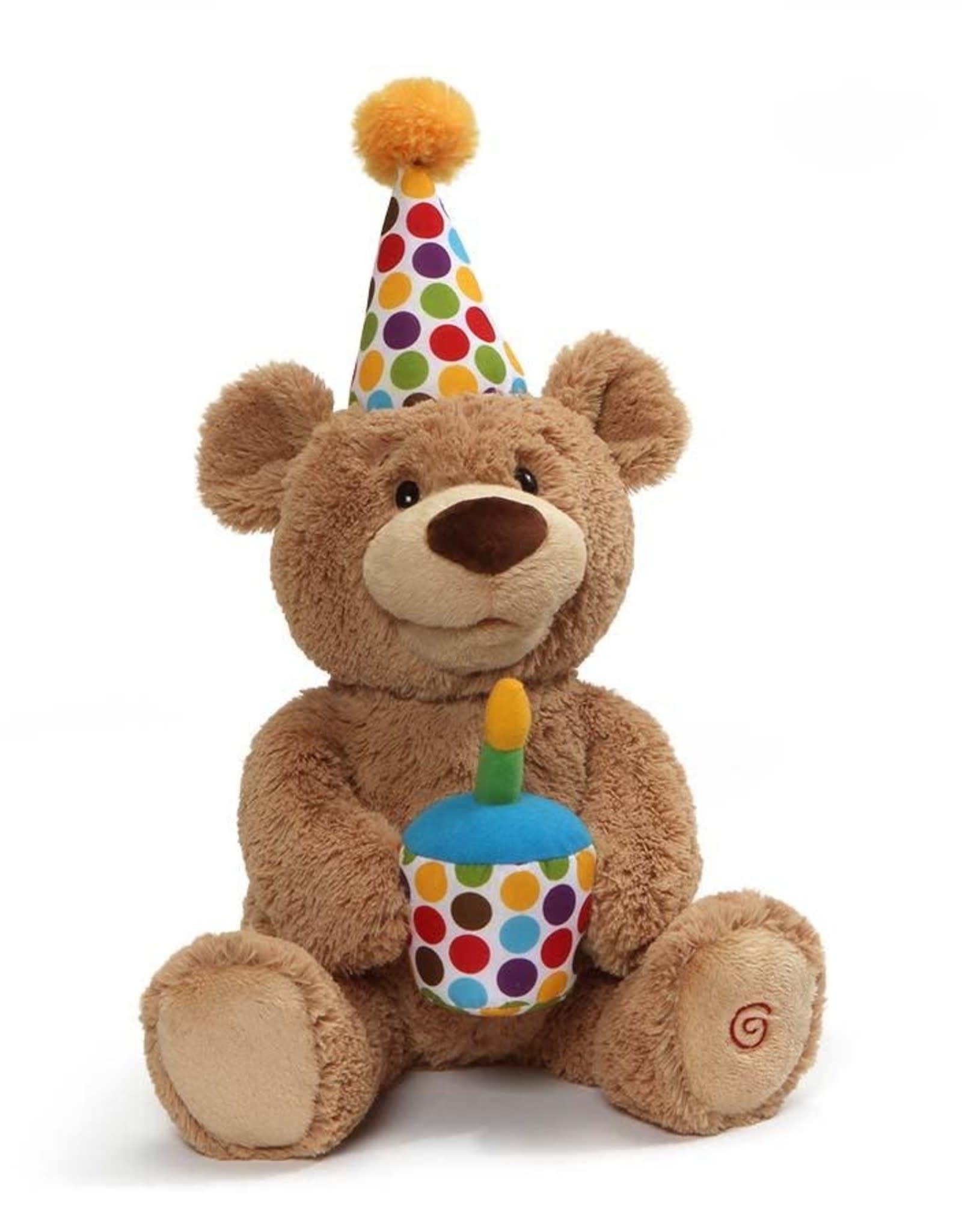 Gund Happy Birthday Animated Bear