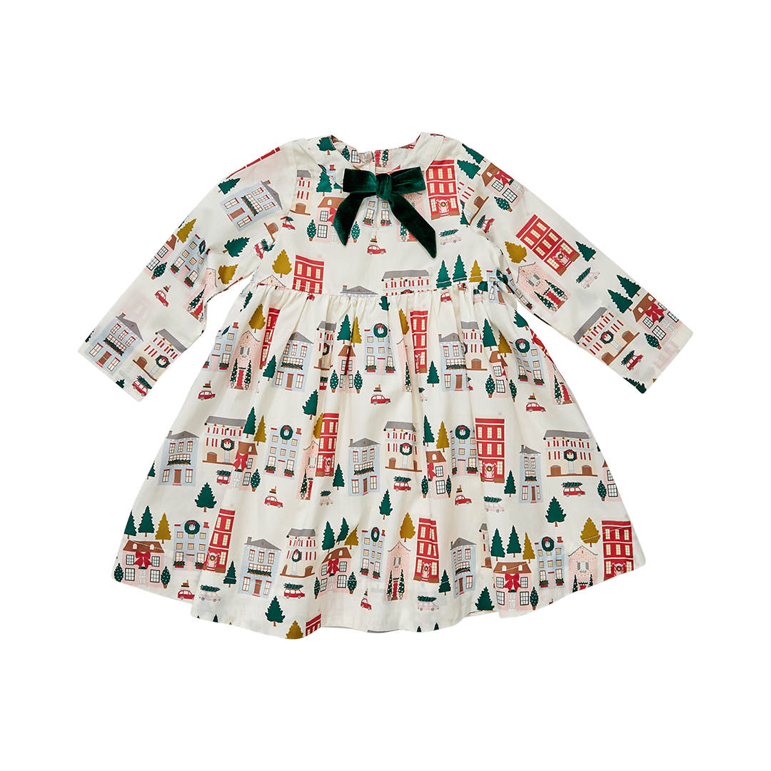 Pink Chicken Margaret Holiday Townhouses Dress