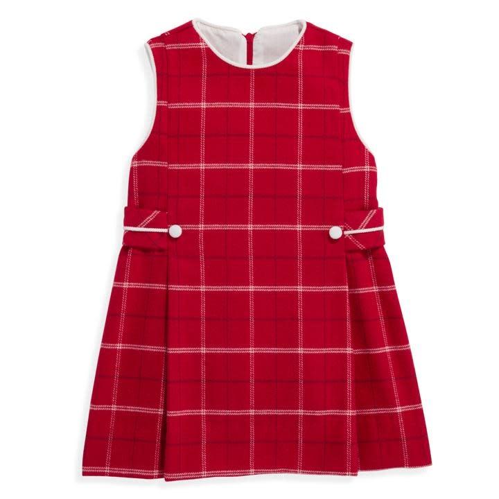 bella bliss Rex Check Side Tab Dress