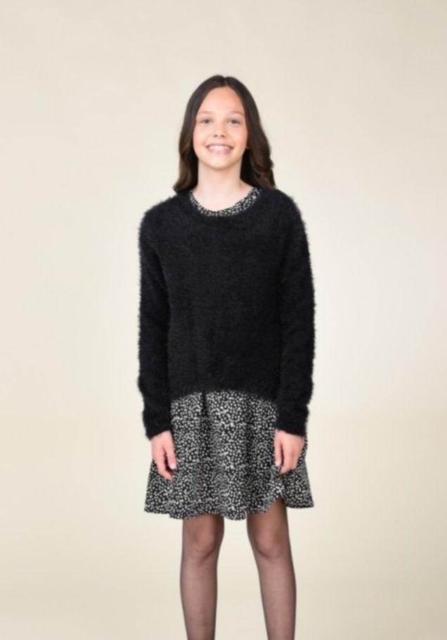 Mini Molly Polka Dot Dress Set