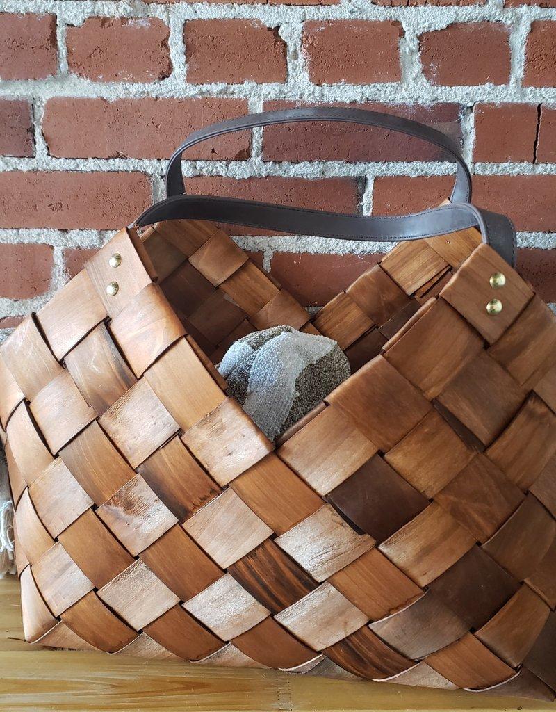 Seagrass Picnic Basket, Lg