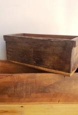Found Wooden Container, Sm.
