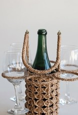 Picnic WIne Glass and Bottle Holder