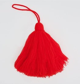 Shocking Orange Giant Tassel