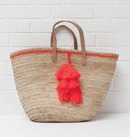 Fiesta Tassel Basket