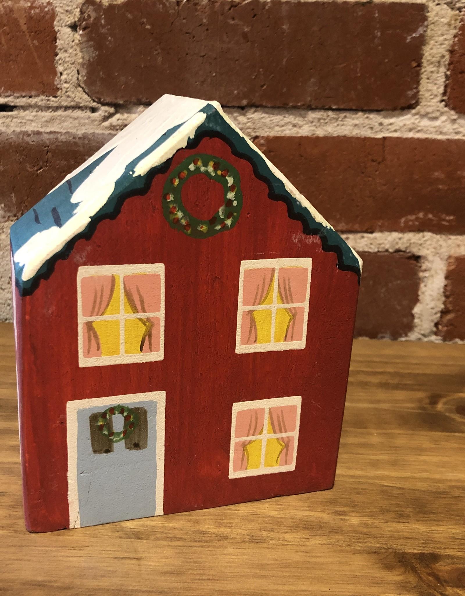 Nordic Village House, Sm set of 4