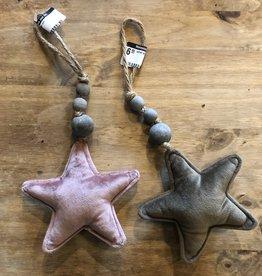 Velvet Star Ornament