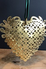 lace heart ornament