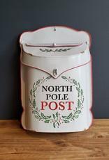 Tin post box holiday