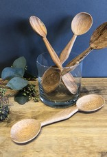 Hand Carved Wooden 2 Sided Spoon