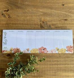 Petaluma Weekly Notepad