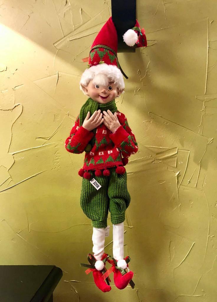 CHRISTMAS POSABLE ELF
