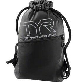 TYR Alliance Waterproof Sackpack: Black