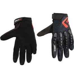 G-Form Pro Trail Gloves: Black Topo LG