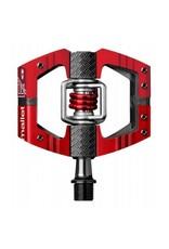 Crank Brothers Mallet E LS Pedals, Red/Black NLA