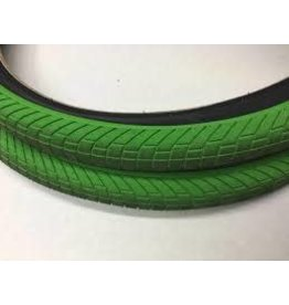 """24"""" Kenda Kranium 2.1"""" Tire GREEN W/ BLACK SIDEWALL"""