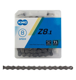 KMC CHAIN KMC Z8.1 INDEX 8s GY/GY 116L