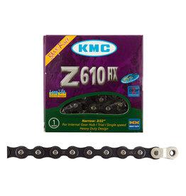 KMC CHAIN KMC 1/2x3/32 Z610HX +OL 1s BK 112L