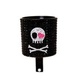 Cruiser Candy DRINK HOLDER C-CANDY RHINESTONE SKULL