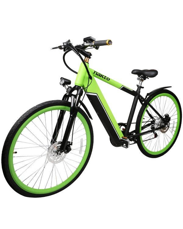 Nakto SPEED Electric Hybrid 700  Green