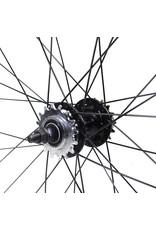 Wheels 700 Chrome Fixed/Freewheel set 45mm